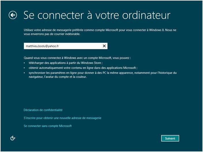 À quoi sert la possession d'un compte Microsoft?