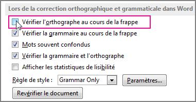Comment activer la correction automatique dans Outlook?