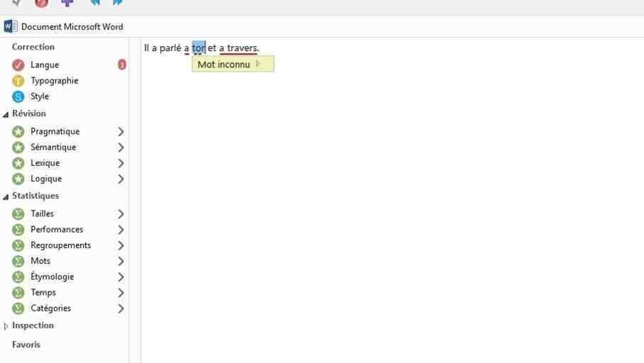 Comment avoir une correction automatique sur Wordpad?