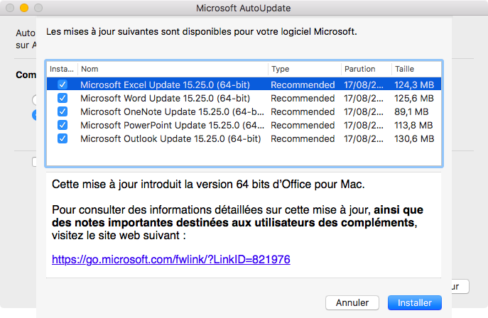 Comment installer Microsoft Office sur un Mac?