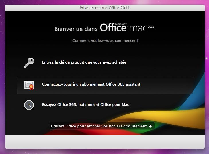 Comment installer Office Pack gratuitement sur Mac?