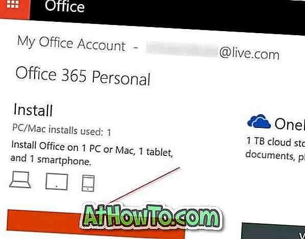 Comment installer Office sur un autre ordinateur?