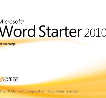 Comment installer Word 2010 sur PC ?