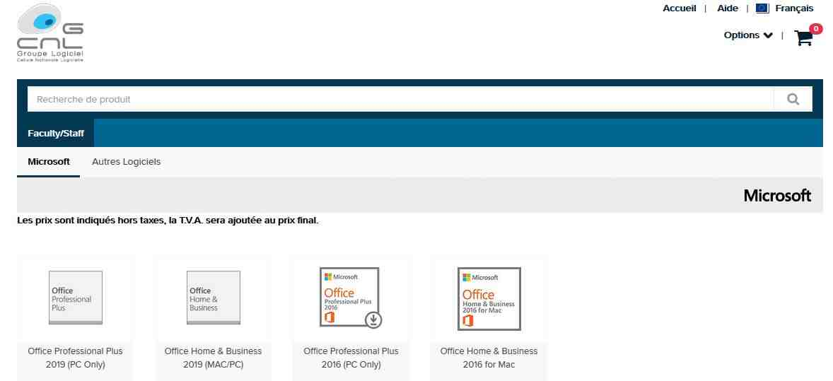 Comment installer gratuitement Microsoft Office 2016?