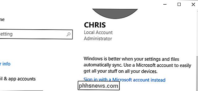 Comment m'inscrire sans compte Microsoft?