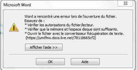 Comment ouvrir des fichiers Office?