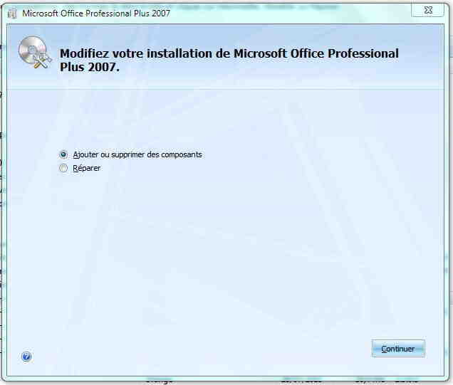 Comment réparer Microsoft Office 2010?