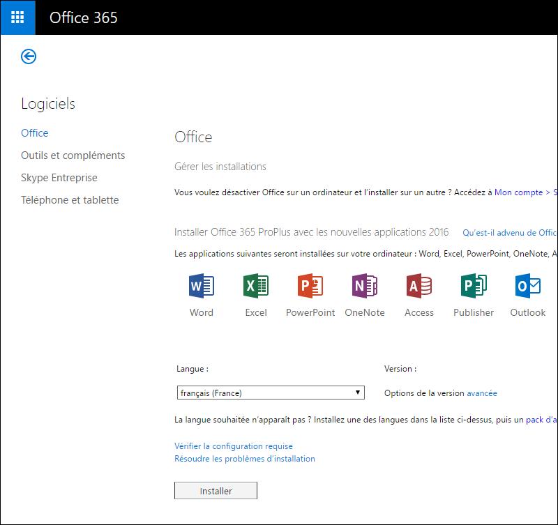 Comment restaurer Office sur un autre PC?