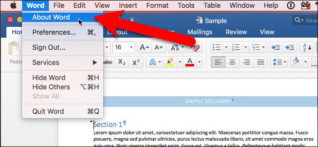 Comment savoir si Microsoft Office 2016 est activé?
