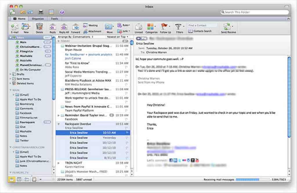 Comment télécharger l'application Outlook?