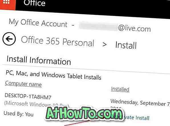 Comment transférer une licence Microsoft Office ?