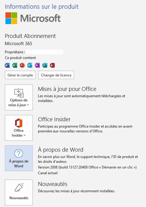Comment vérifier la version de Windows?