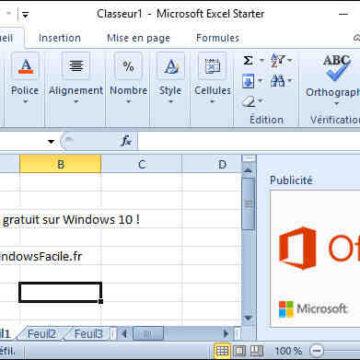 Est-ce que Excel est gratuit ?
