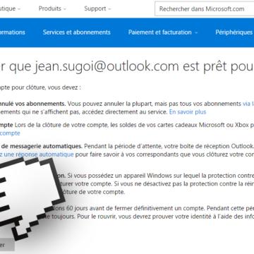 Est-ce que le compte Microsoft est gratuit ?