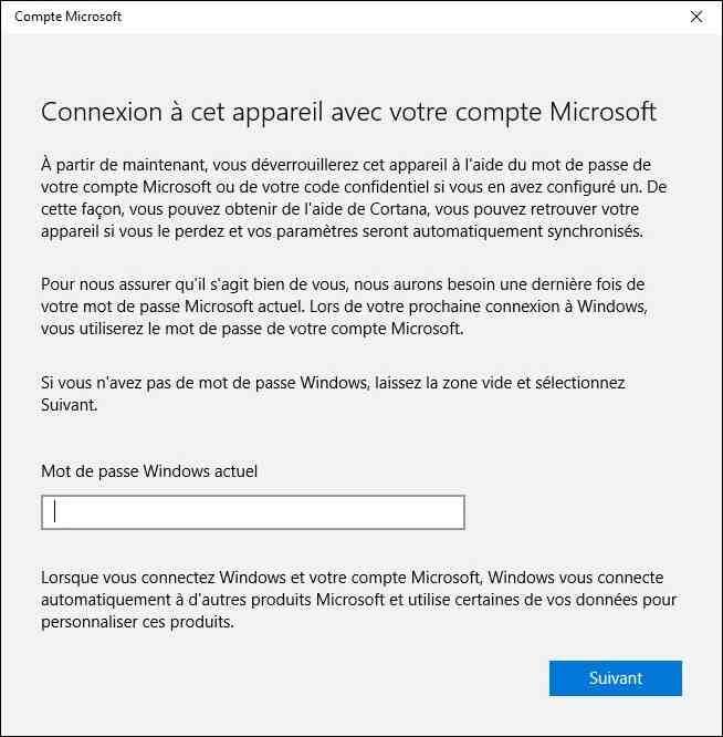 Est-il obligatoire d'avoir un compte Microsoft?