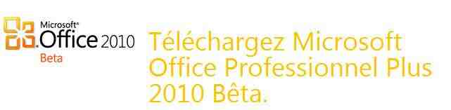 Comment activer la licence Microsoft Office 2010?