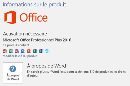 Comment enregistrer Office sur un nouveau PC?