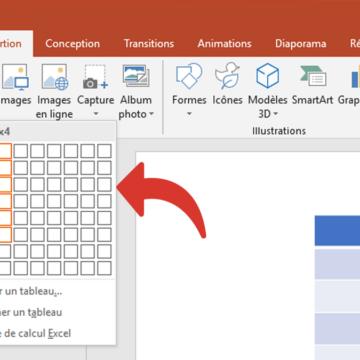 Comment faire un tableau Excel rapidement ?