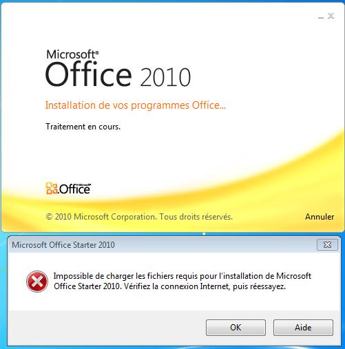 Comment installer Microsoft Office 2010?
