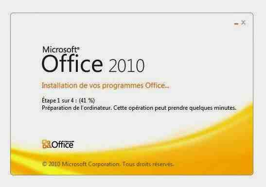 Comment installer Microsoft Word Starter 2010?