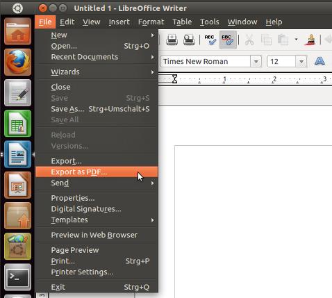 Comment ouvrir un document avec Libre Office?