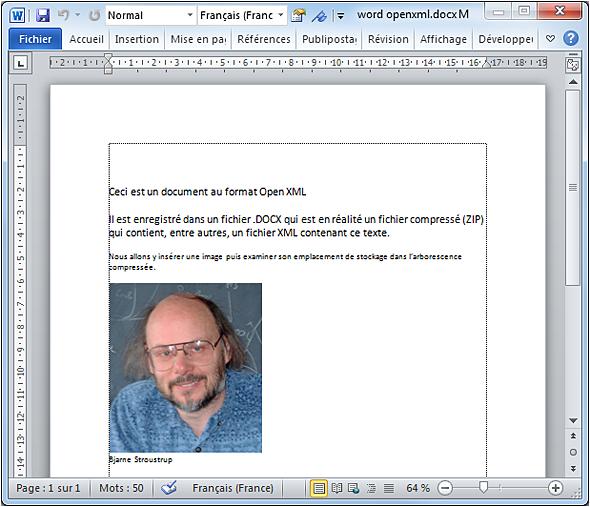 Comment passer d'un document Word à Open Office ?
