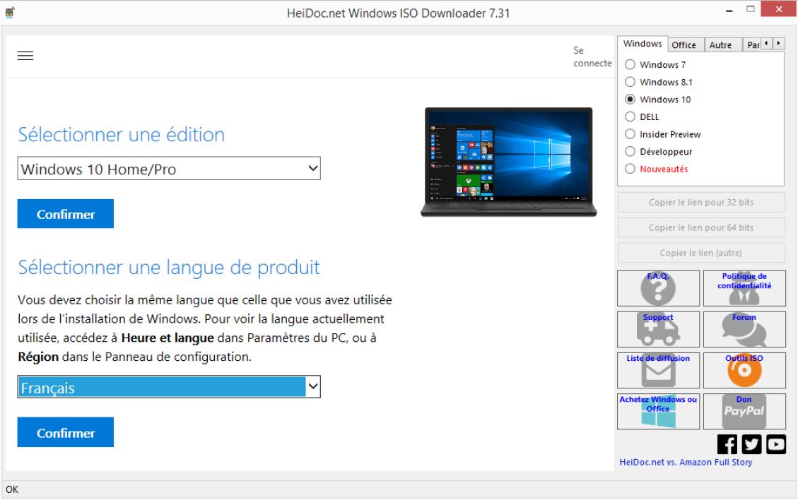 Comment puis-je installer un logiciel à partir d'une clé USB?