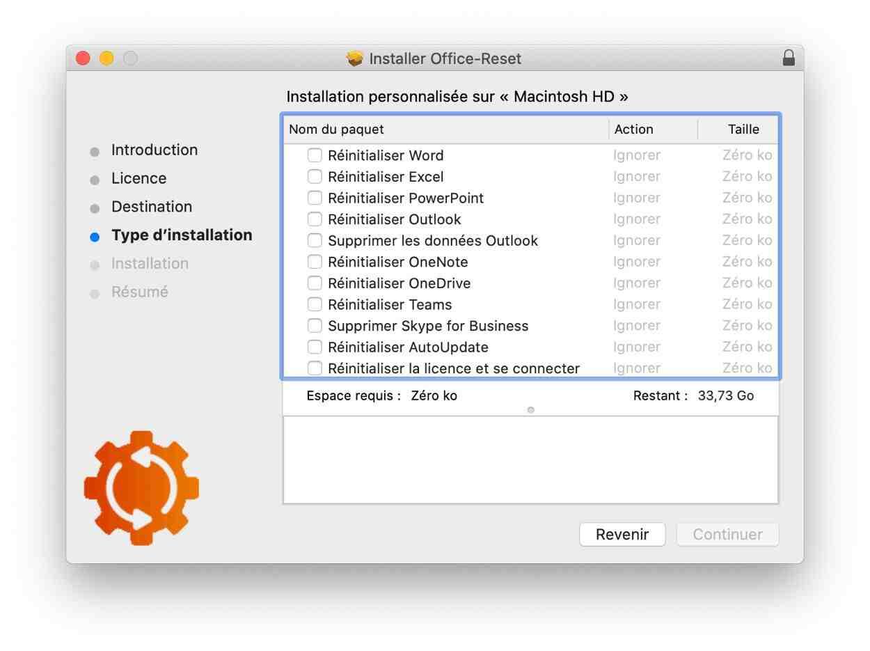 Comment récupérer Office Pack sur Mac?