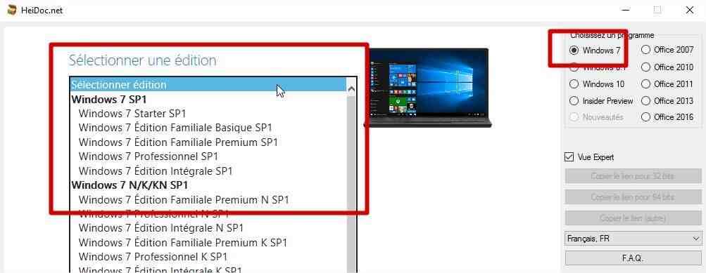 Comment télécharger gratuitement le package Office?