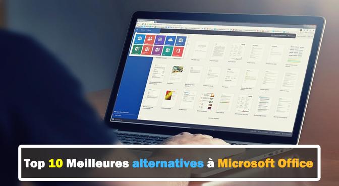 Quel logiciel remplace Office?