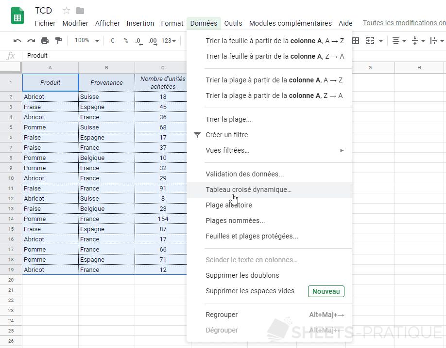 Comment Excel compare-t-il deux tableaux?