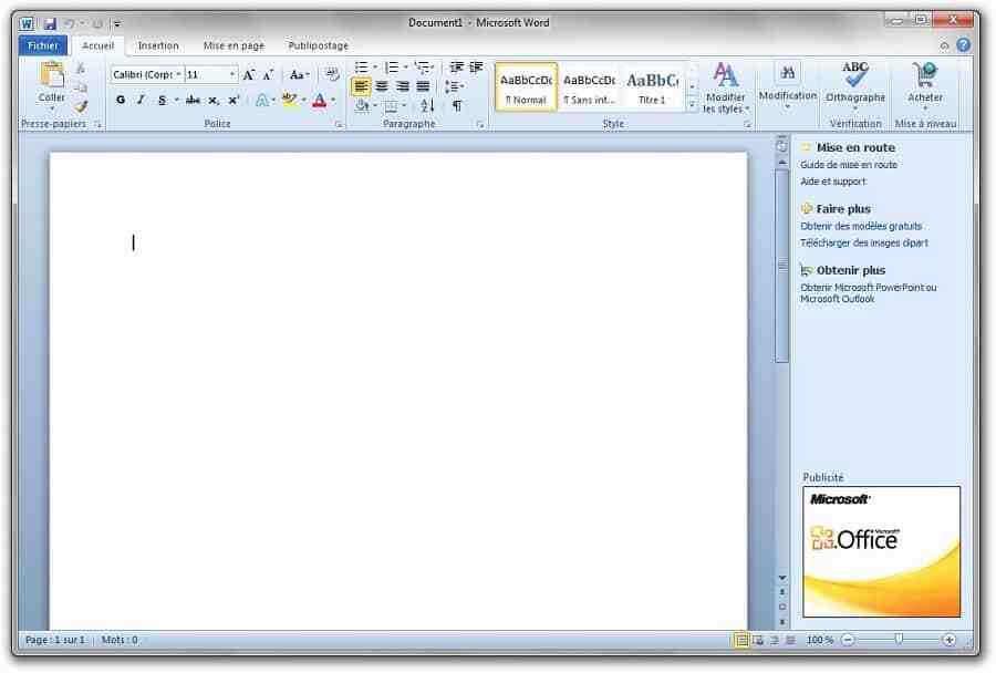 Comment changer la langue d'Office 365?