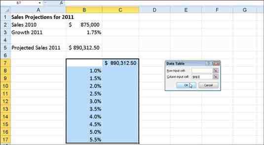 Comment créer un tableau Excel 2010 ?