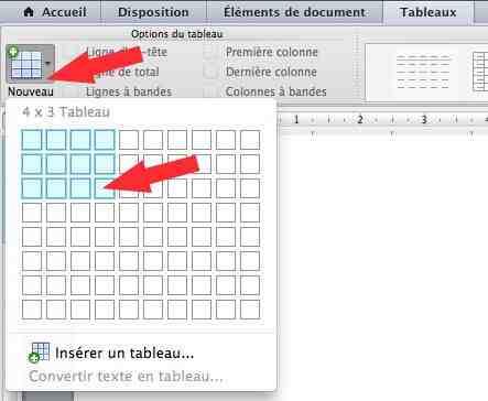 Comment créer un tableau Excel en ligne?