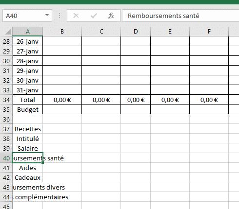 Comment créer un tableau sans Excel?