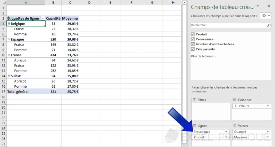 Comment croiser les données de 2 tableaux Excel ?