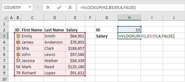 Comment faire une recherche entre 2 onglets Excel?