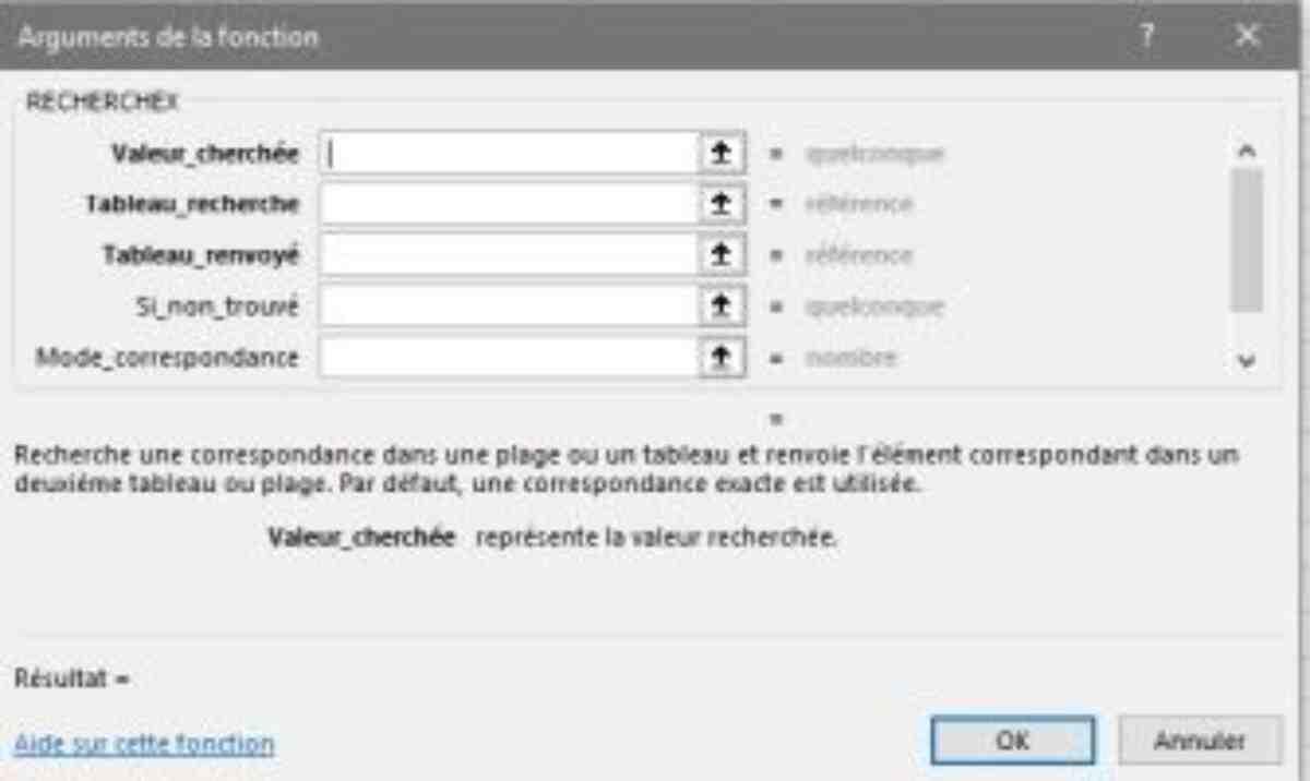 Comment faire une recherche entre deux fichiers Excel?