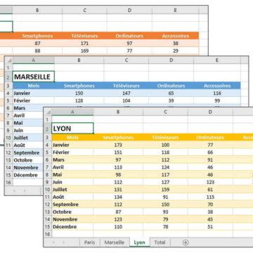 Comment fusionner deux tableaux Excel ?