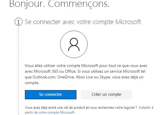 Comment installer Microsoft Office sur un ordinateur portable?