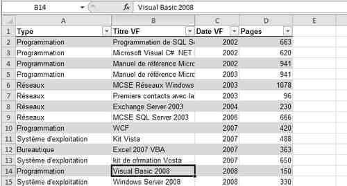 Comment lier des tableaux dans Excel?