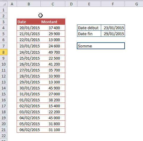 Comment relier deux tableaux Excel?