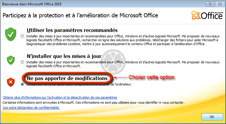Comment réparer Microsoft Office Starter 2010?