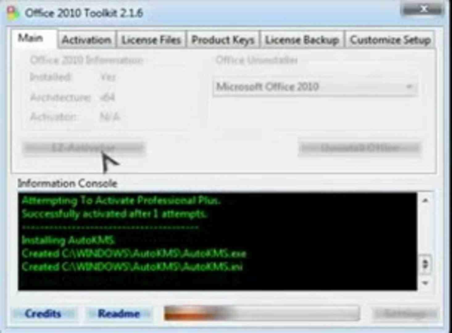 Comment savoir si Microsoft Office 2010 est activé?