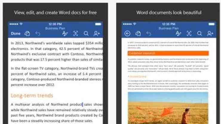 Quelle version de Word est gratuite?