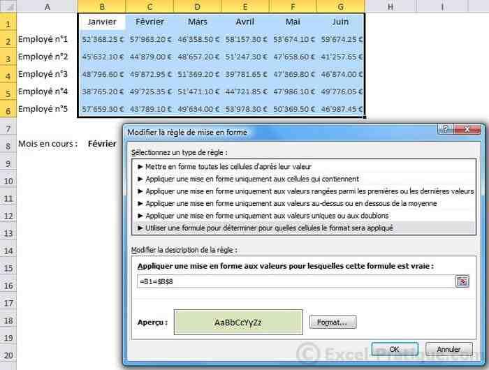 Comment appliquer une formule à plusieurs cellules Excel ?
