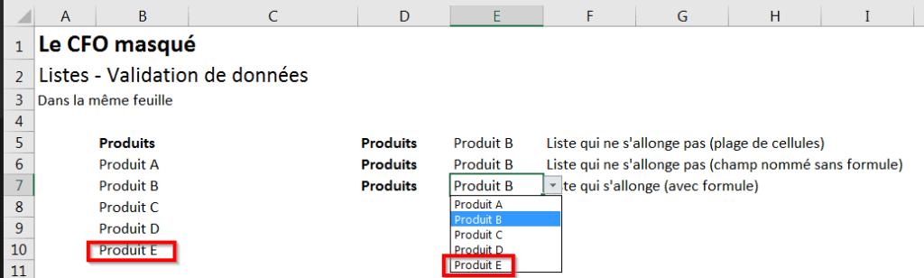 Comment copier la formule au bas d'un tableau ?