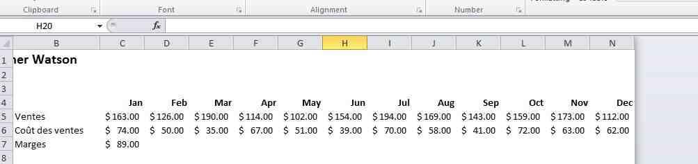 Comment copier un tableau Excel tout en préservant la mise en forme ?