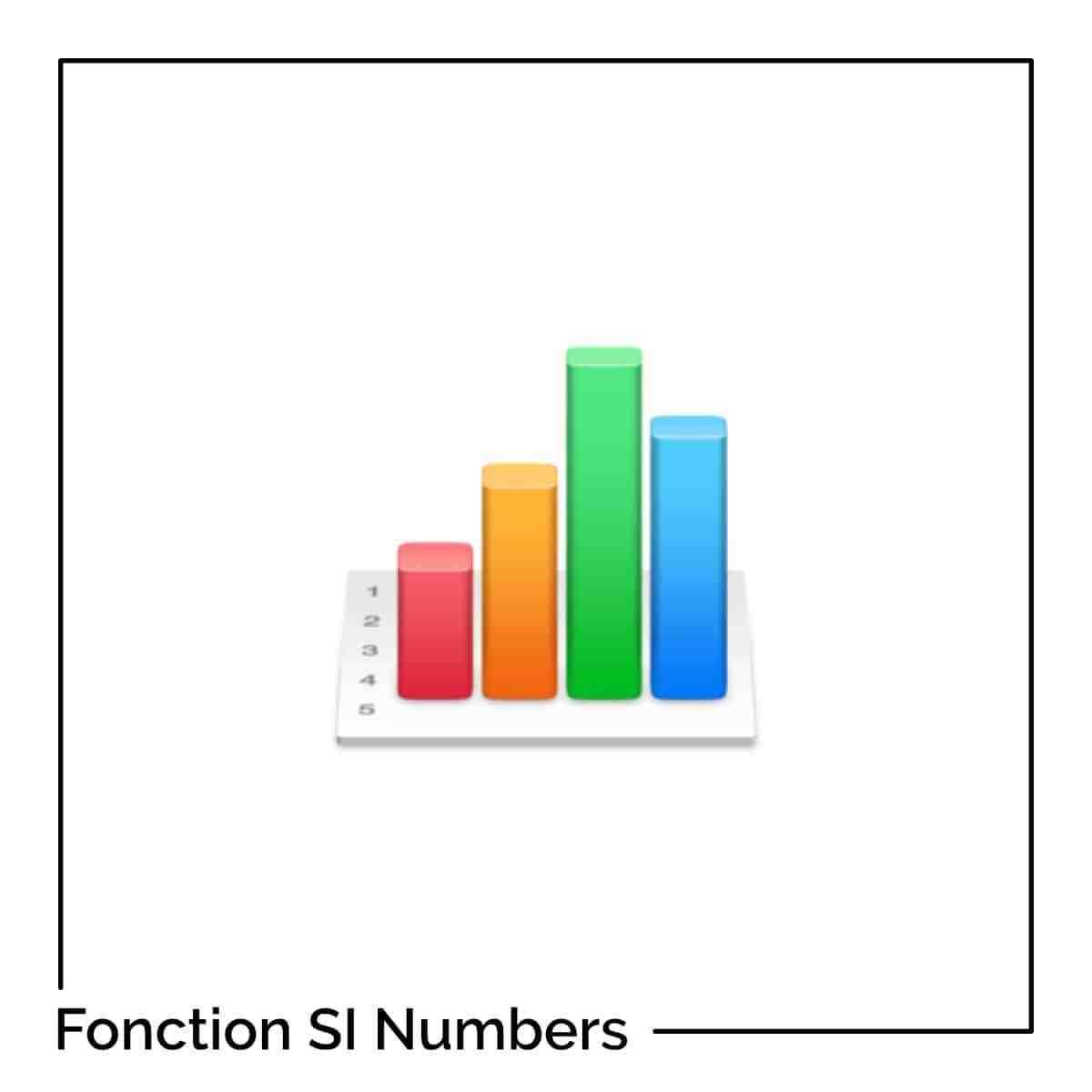 Comment étirer une formule en nombres ?