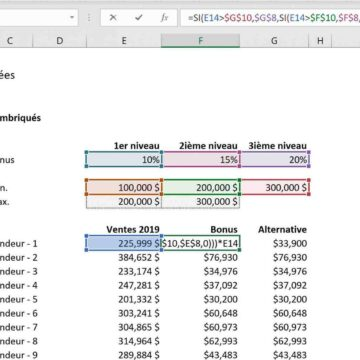 Comment faire un calcul automatique sur Excel ?